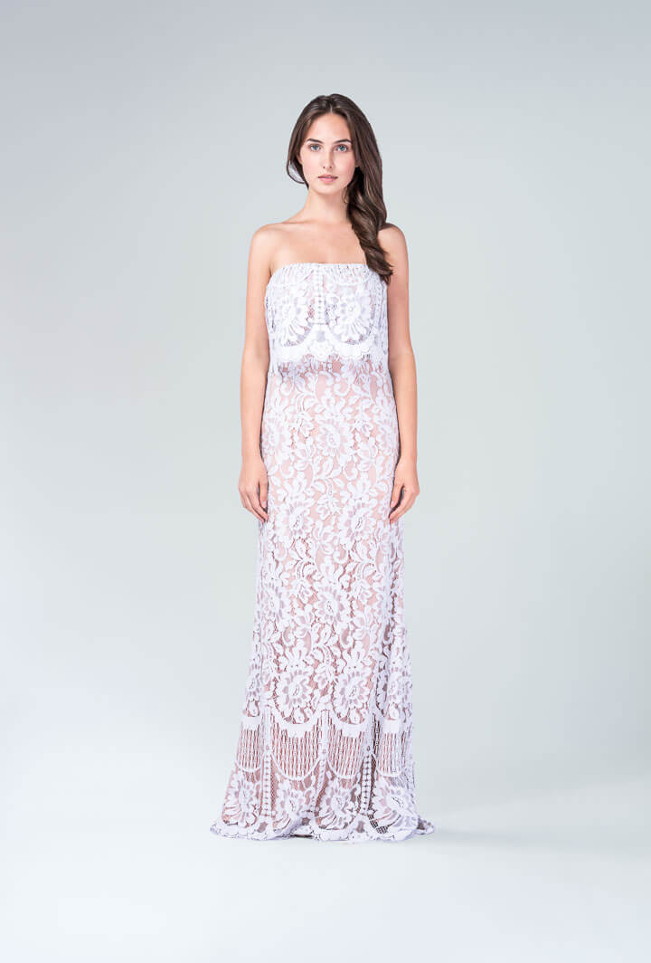 Ажурное платье Jarlo