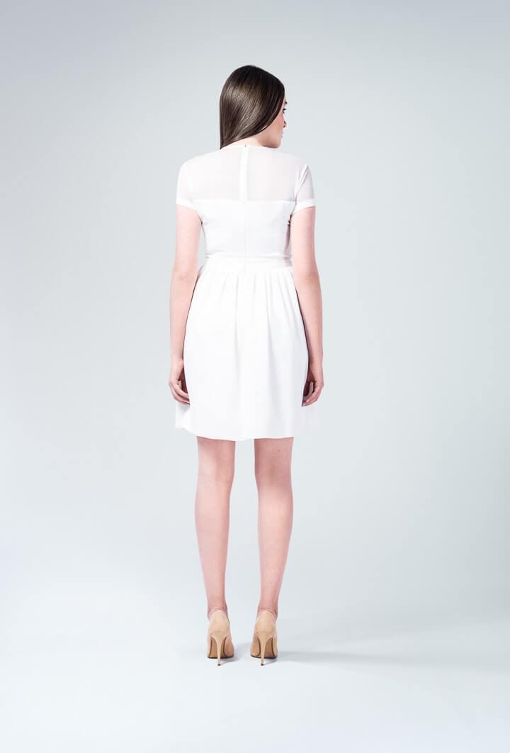 Белое платье Miu