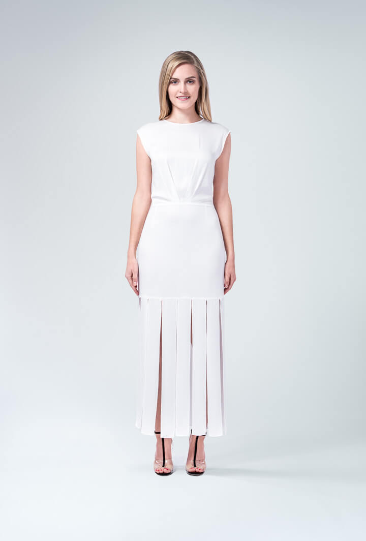 Белое платье Vena