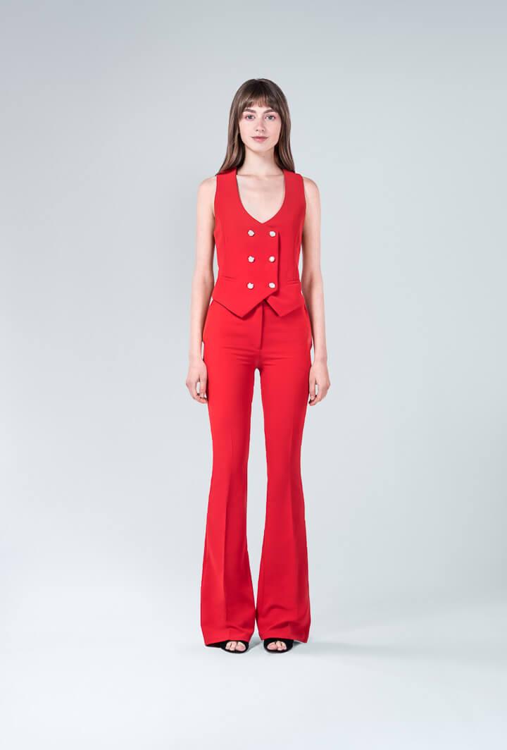 Комплект брюки с жилетом