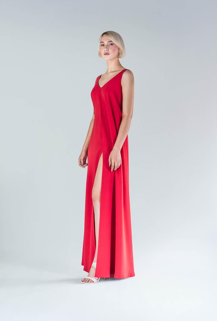 Красное платье Alima