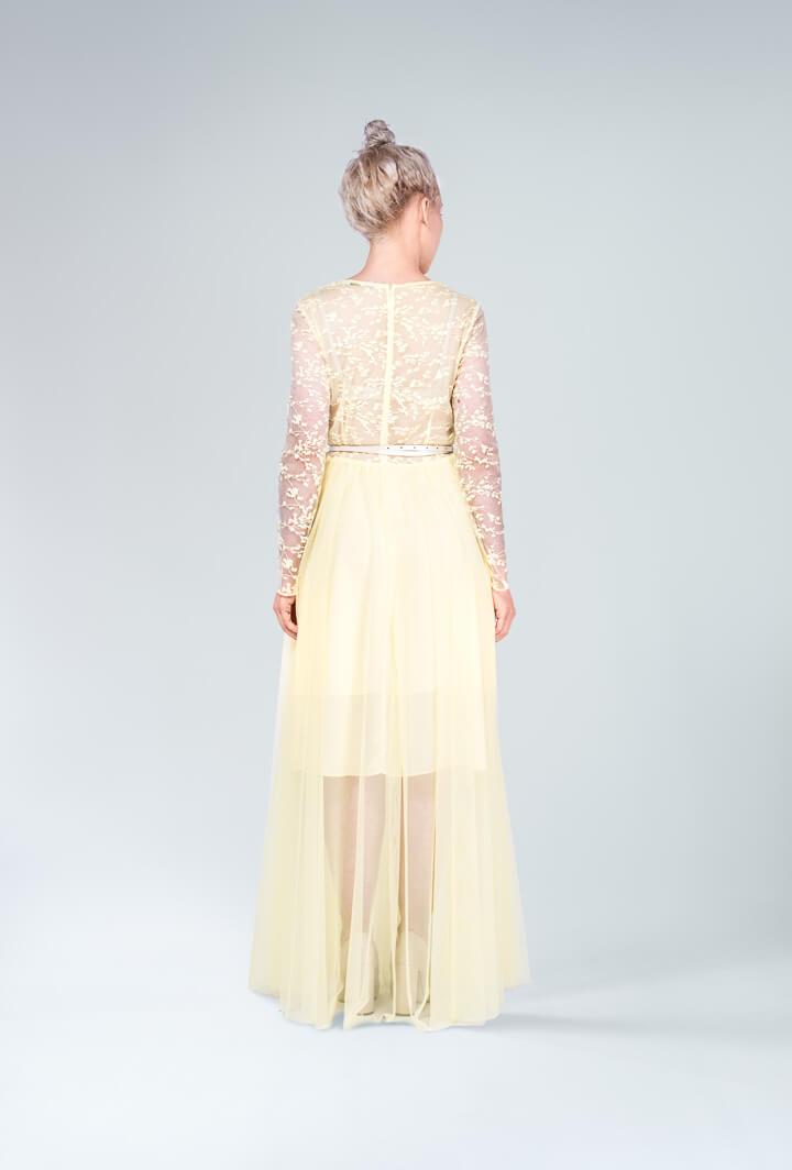 Платье Apley с гипюром