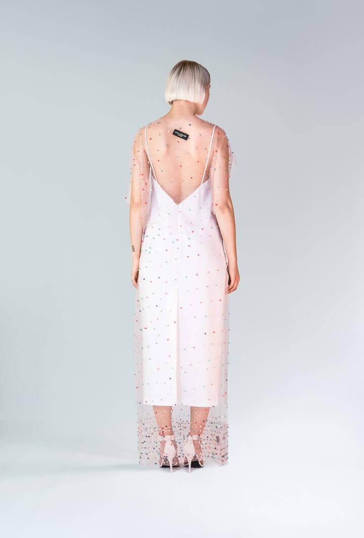 Платье Sweel расшитое бусинами