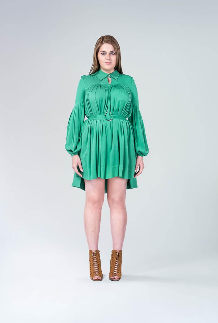 Платье зеленое Danieka