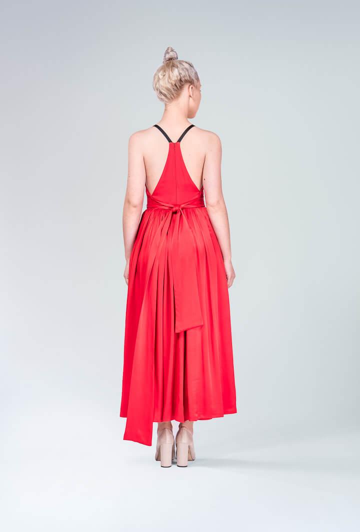 Платья красное Midi
